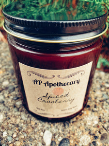 Spiced Cranberry Soy Candle
