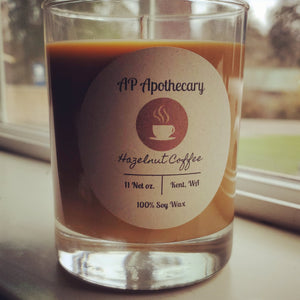 Hazelnutt Coffee Soy Candle