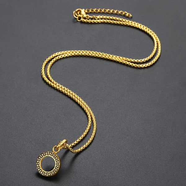 Inner Circle Necklace - Gold