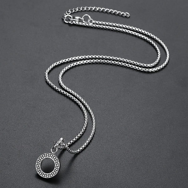 Inner Circle Necklace - Silver