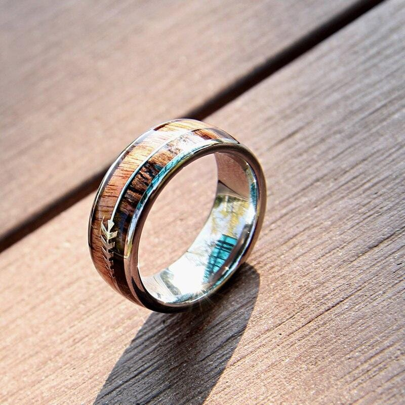Arrow Ring - Wood