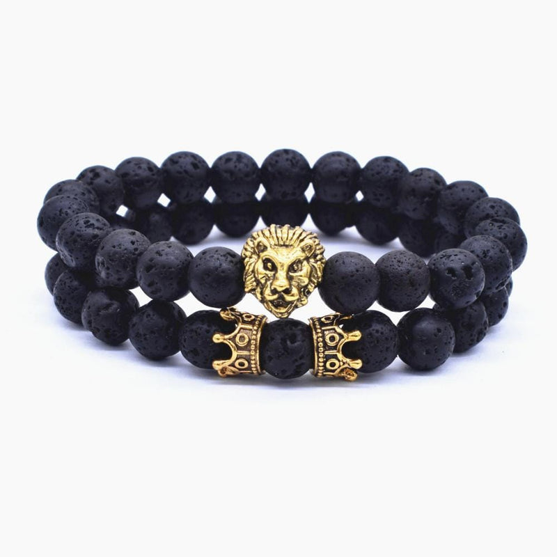 KING Bracelet Set - Gold