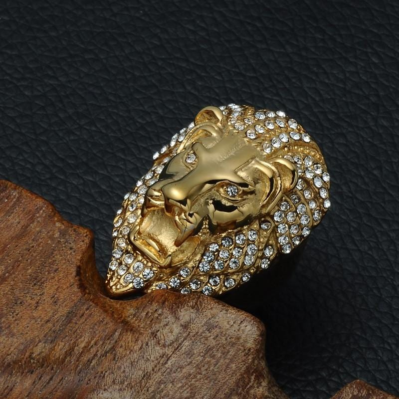 Lion Ring - Iced