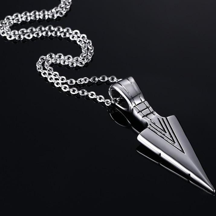 Spear Necklace - Silver
