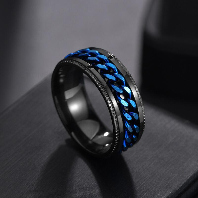 Spinner Ring - Blue