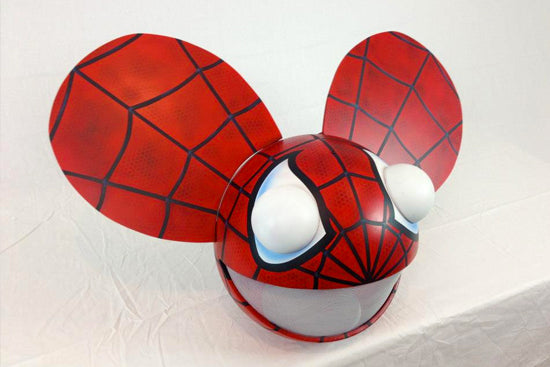 3 spiderman mau5head - Deadmau5 Halloween Head