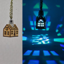 Load image into Gallery viewer, Das Haus Pendant Necklace in Cherry Wood