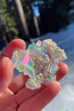 Load image into Gallery viewer, Angel Aura Crystal Palm Cluster No. 08