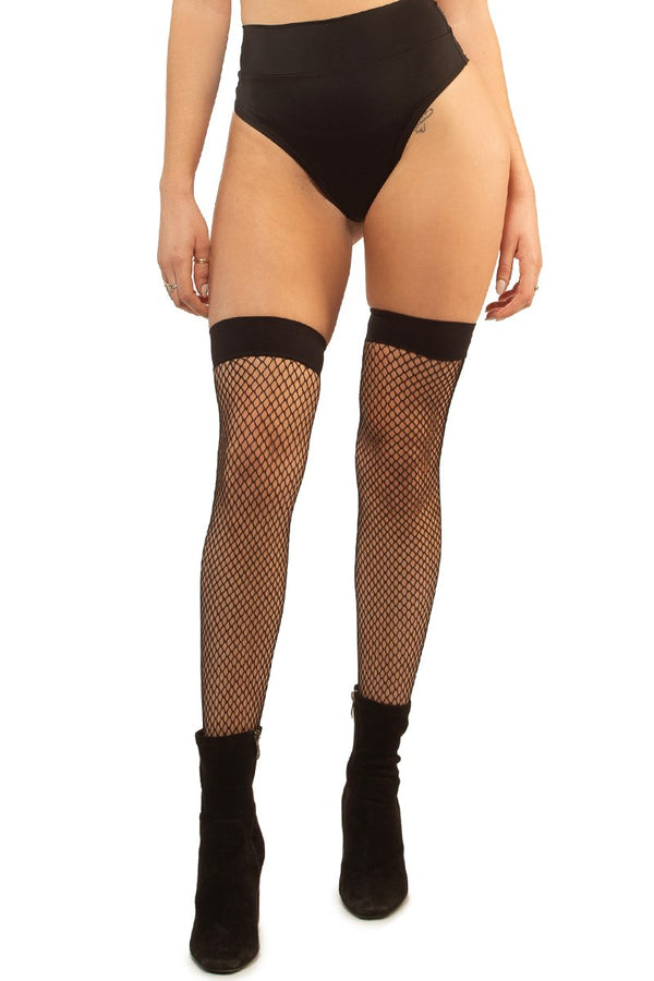 Audrey Thigh Highs, Accessories; Little Black Diamond