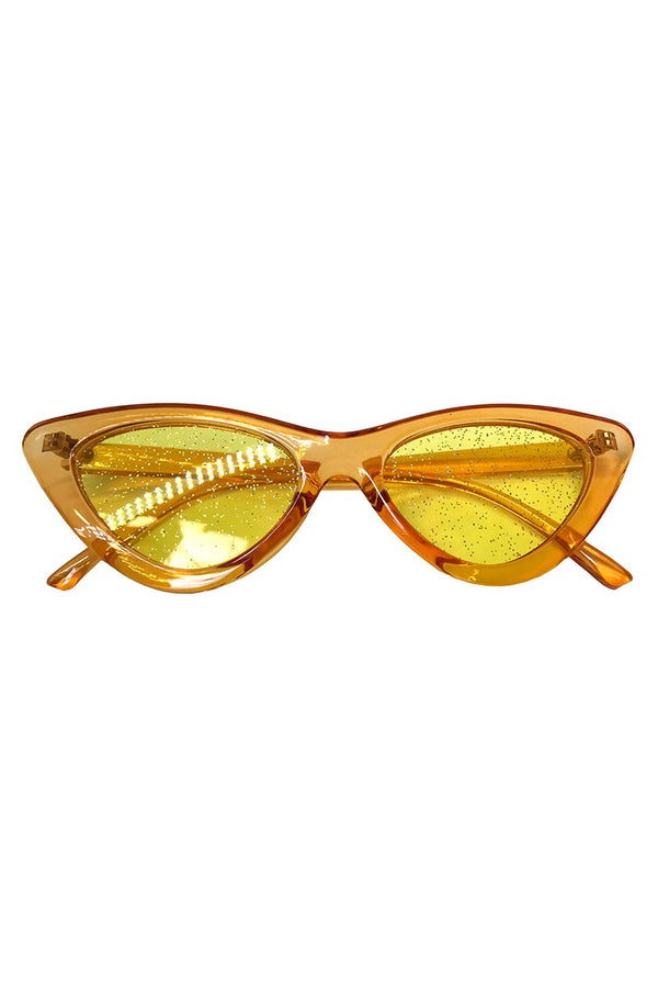 Mellow Yellow Sunnies, Accessories; Little Black Diamond