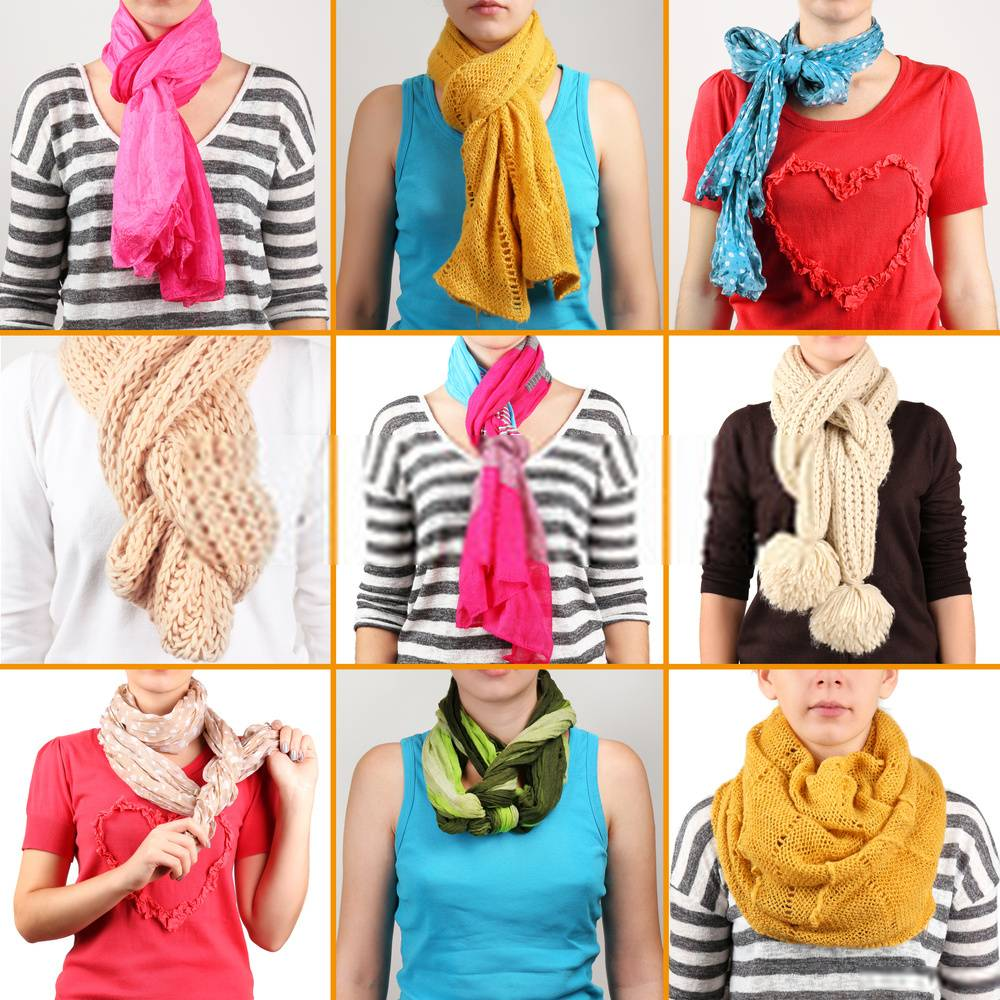 Wearing a Scarf the Right Ways - 19 Easy Methods for the Fashionistas