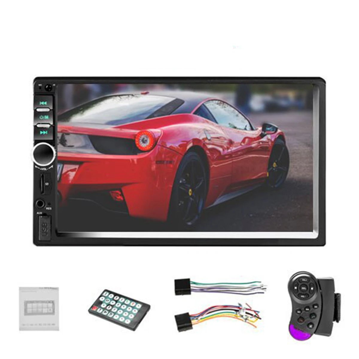 2din Car Stereo With Rear View Camera
