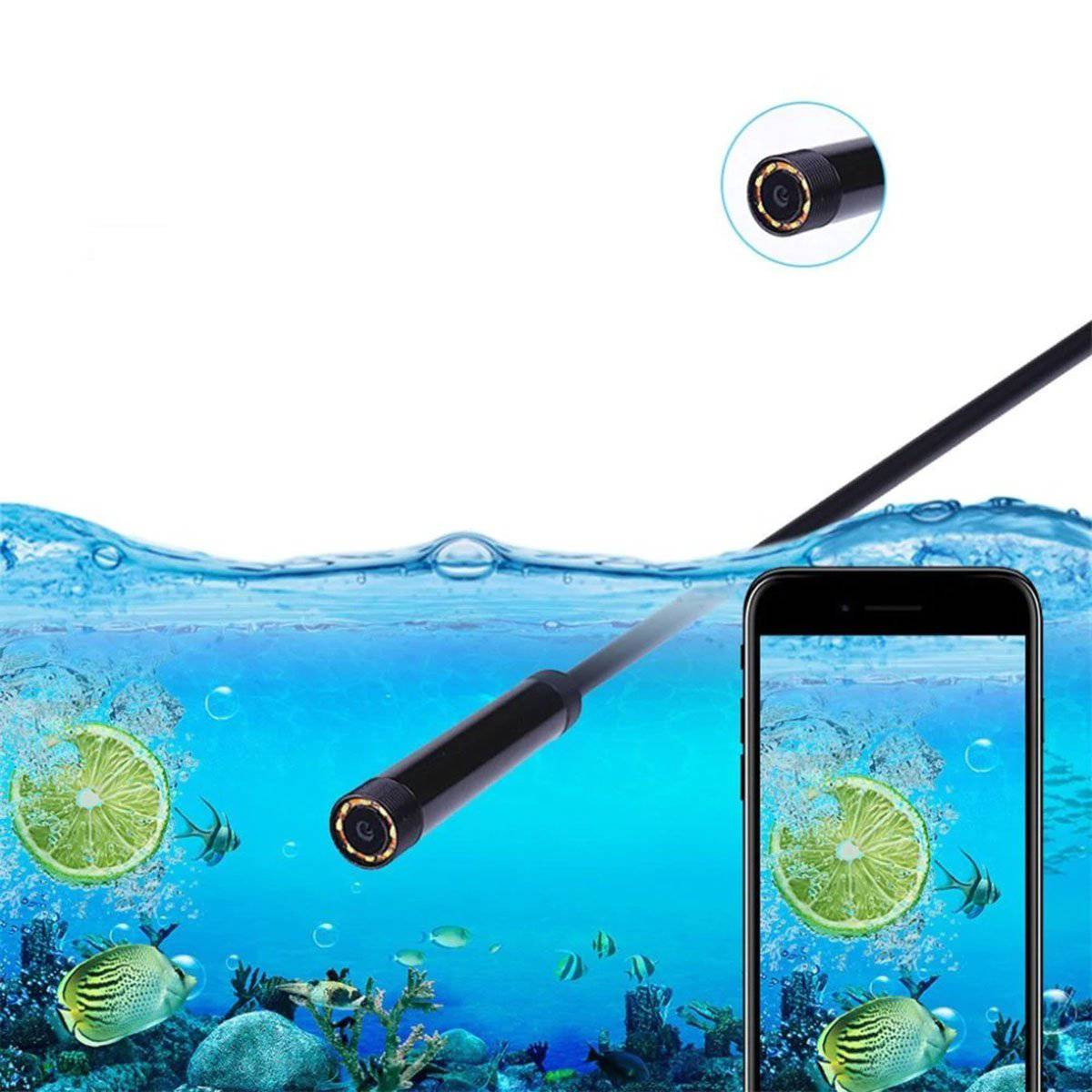 Wireless Endoscope Borescope Camera