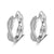 Classic Twisted 925 Sterling Silver Earrings