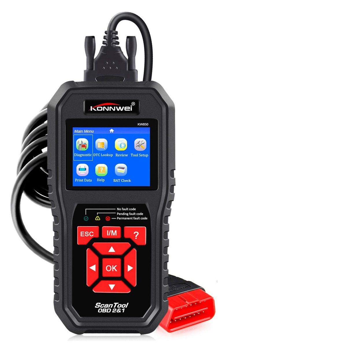 Automotive Car Code Reader for Checking Engines