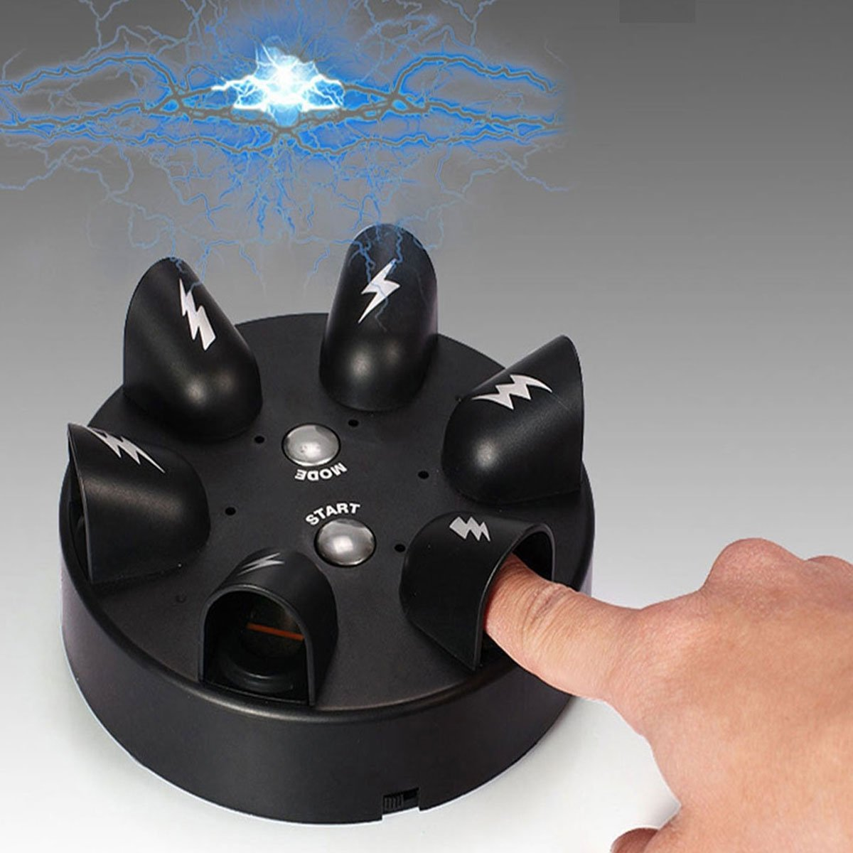 Heartbeat Finger Roulette Electric Lie Detector Made of High-Quality Plastic