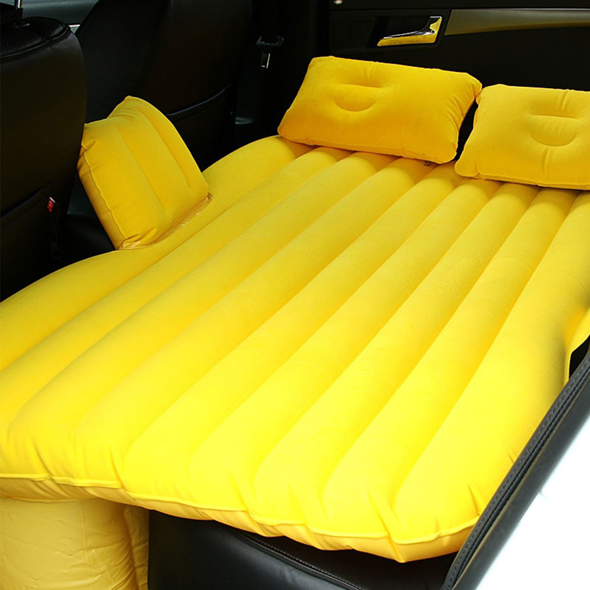 Lightweight & Portable Inflatable Car Mattress With Child Protector