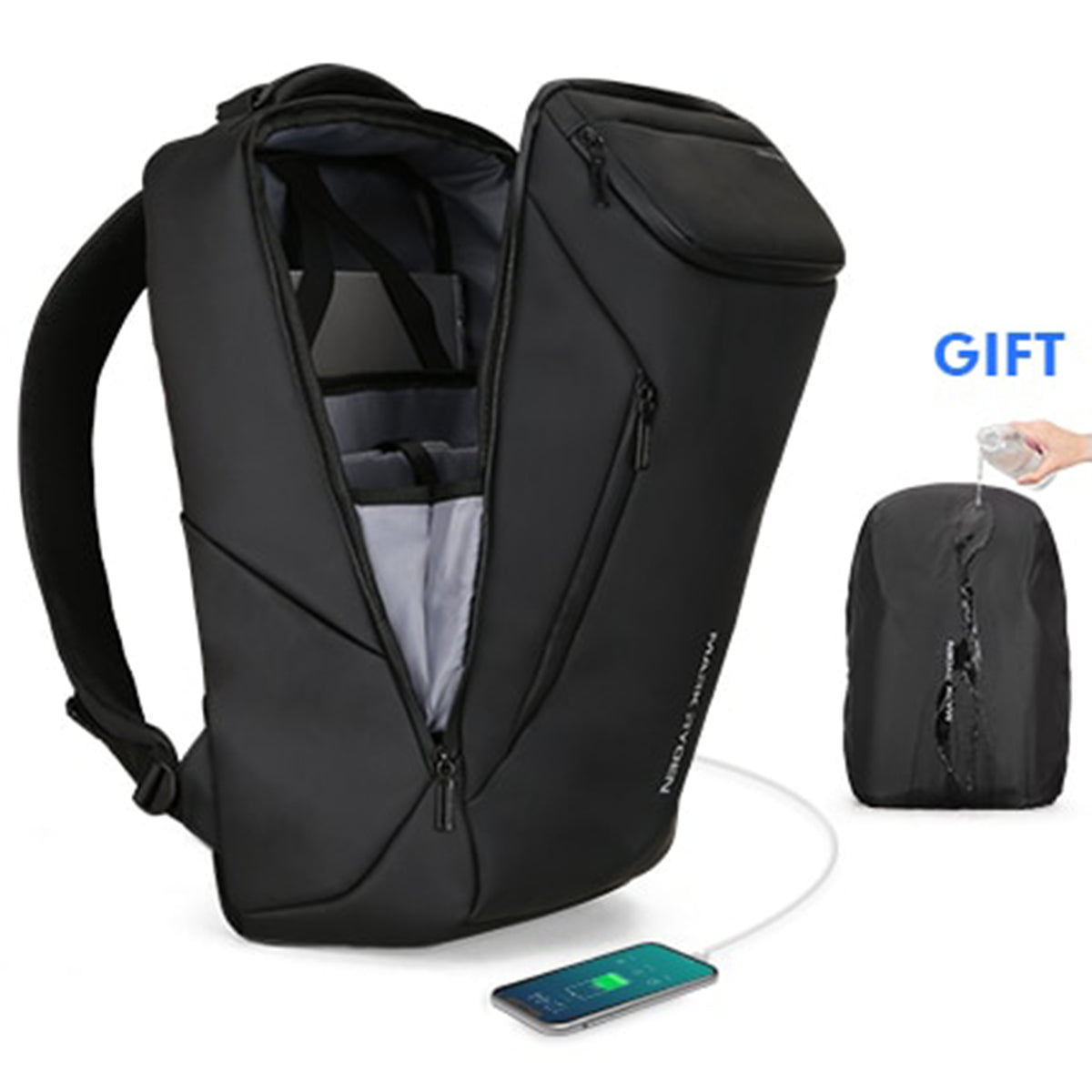 Anti-theft Fashion Men Backpack