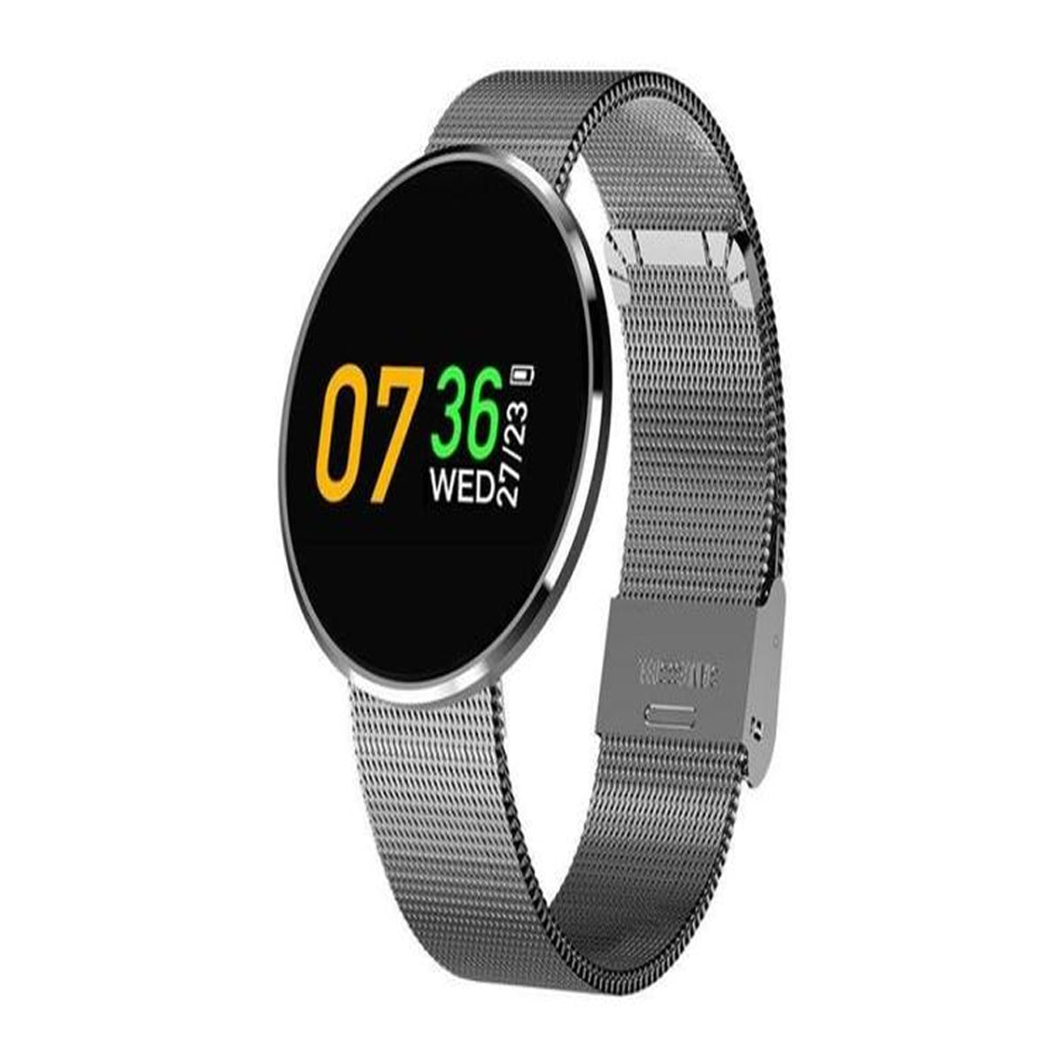 Waterproof Life Smartwatch with Detachable Strap & Large Color Screen