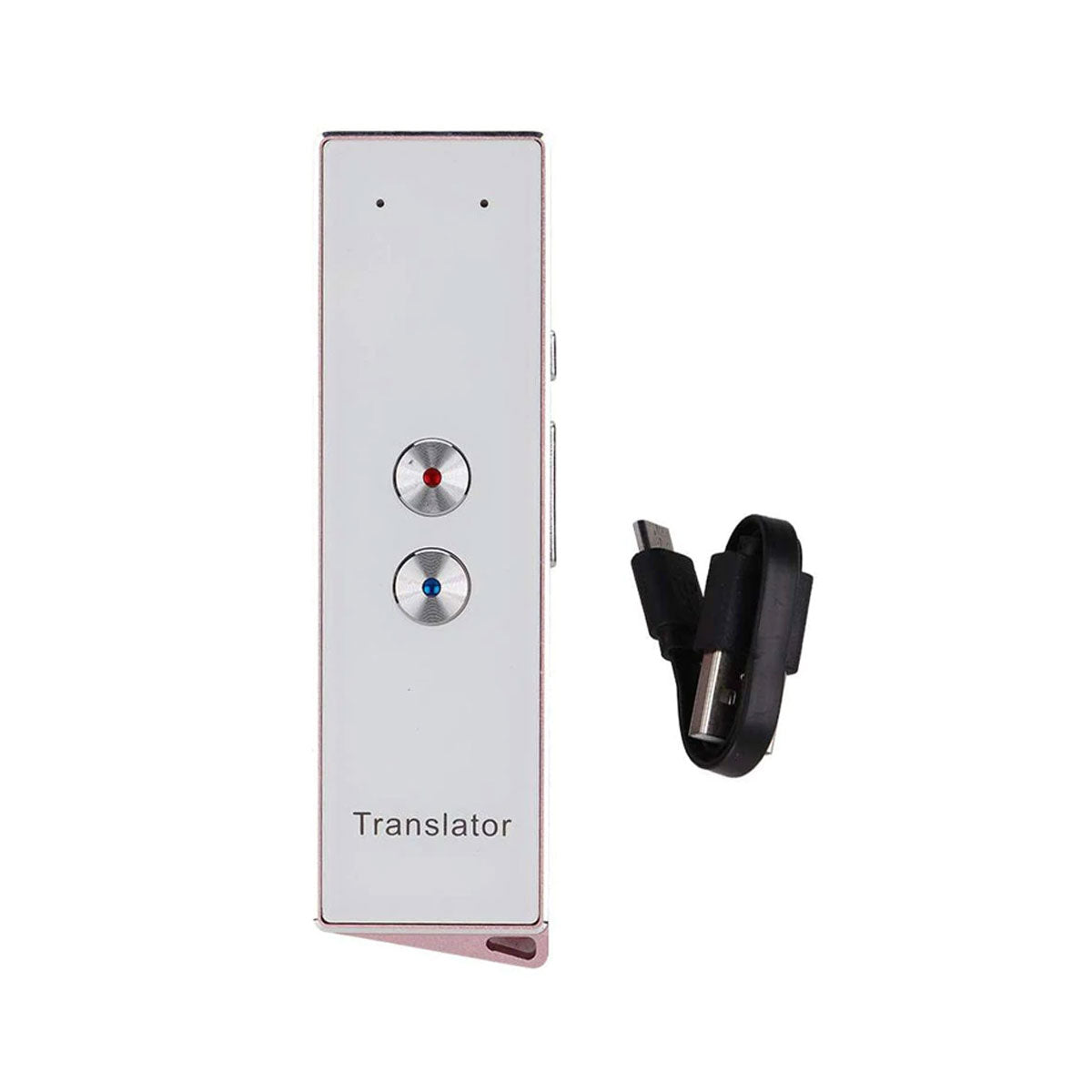 Stylish Multi-Language Smart Speech Translator with Bluetooth