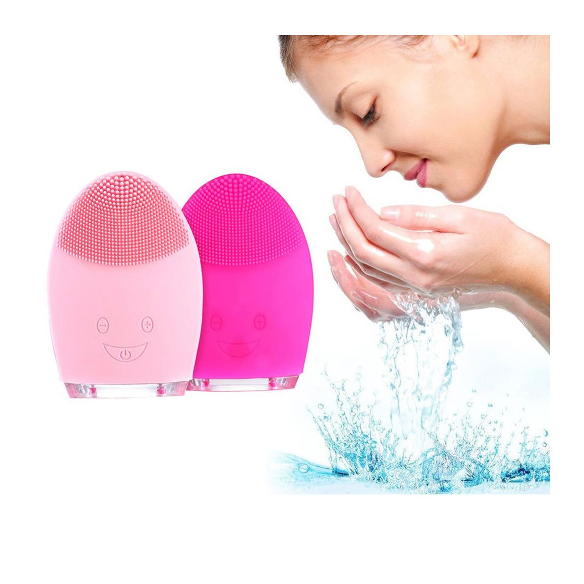 Ultra-Soft Skin-Friendly Silicone Facial Cleansing Brush for Youthful Skin