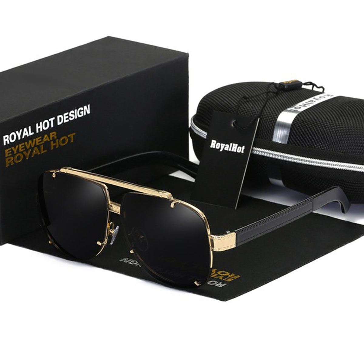RoyalHot Unisex Polarized Sunglasses