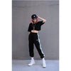 Street Fashion Full Length Broadcloth Fabric Loose Fit Trousers Joggers