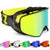 2 in 1 Snowboard Goggles with Magnetic Dual-use Lens