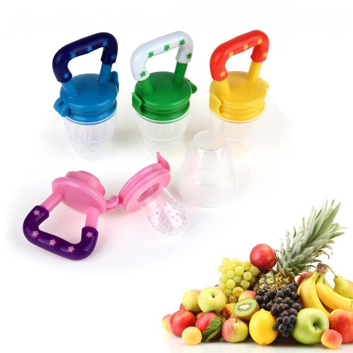 Safe Silicone Baby Food Feeder