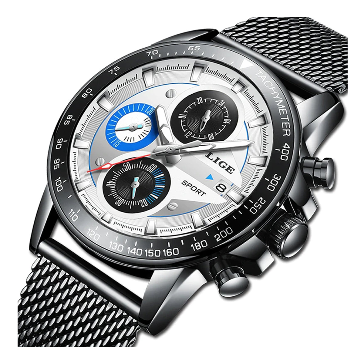 Quality Auto Date & Complete Calendar Waterproof Wrist Watch for Men