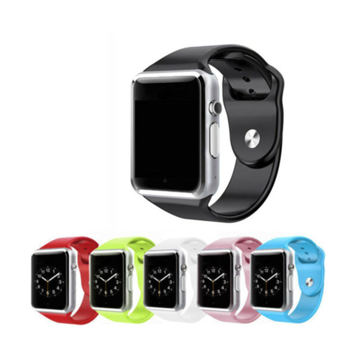 Bluetooth Smart Watch with Camera, Pedometer, Sleep Monitor & Sedentary Reminder