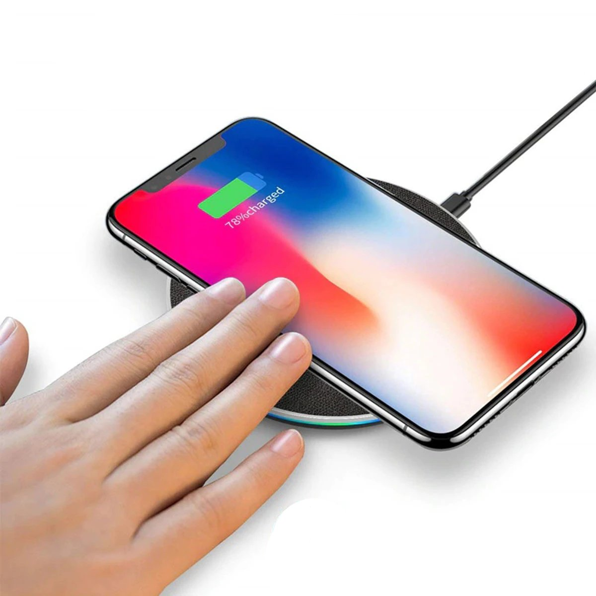 Fast Qi Wireless Charger For iPhone