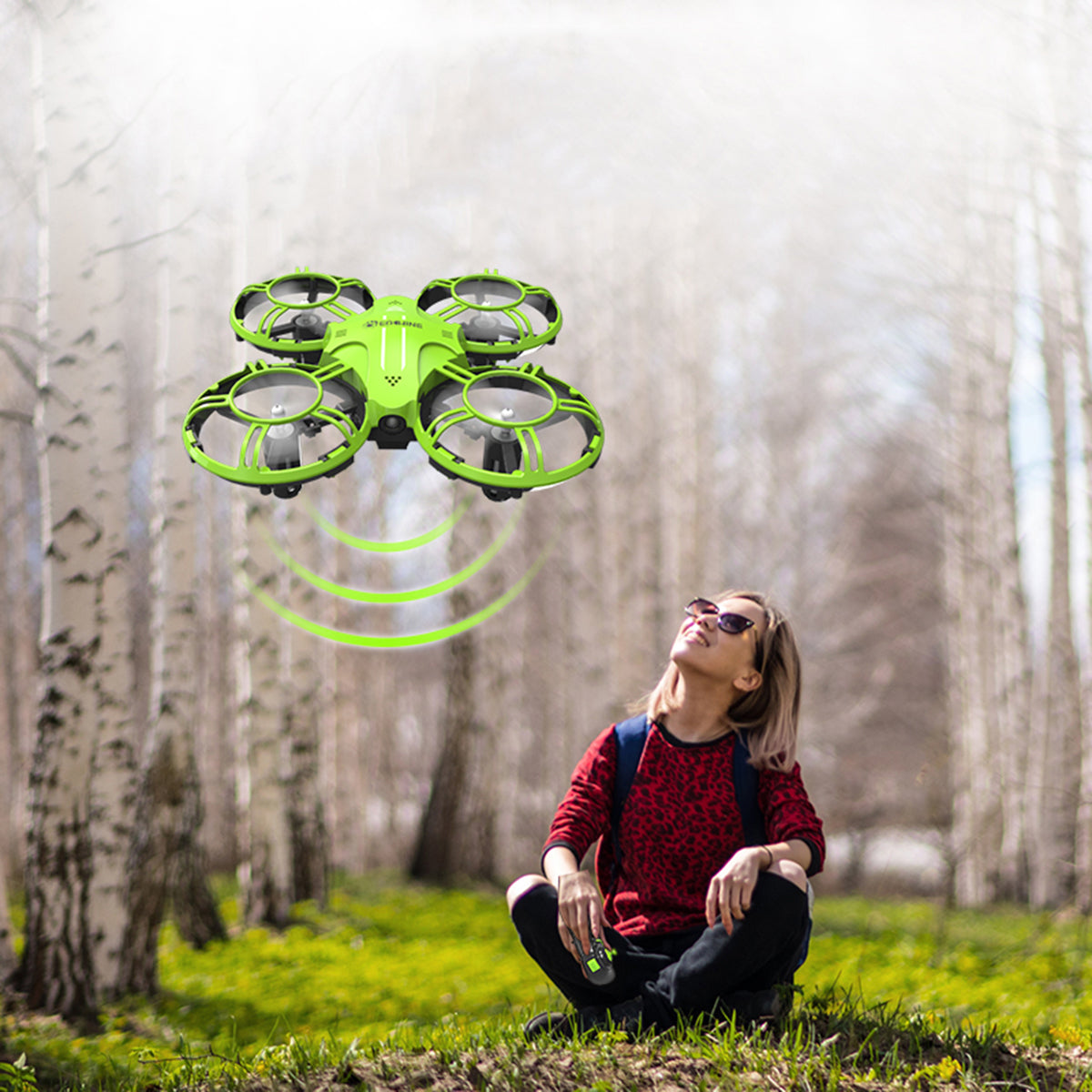 RC Mini Altitude Foldable Drone