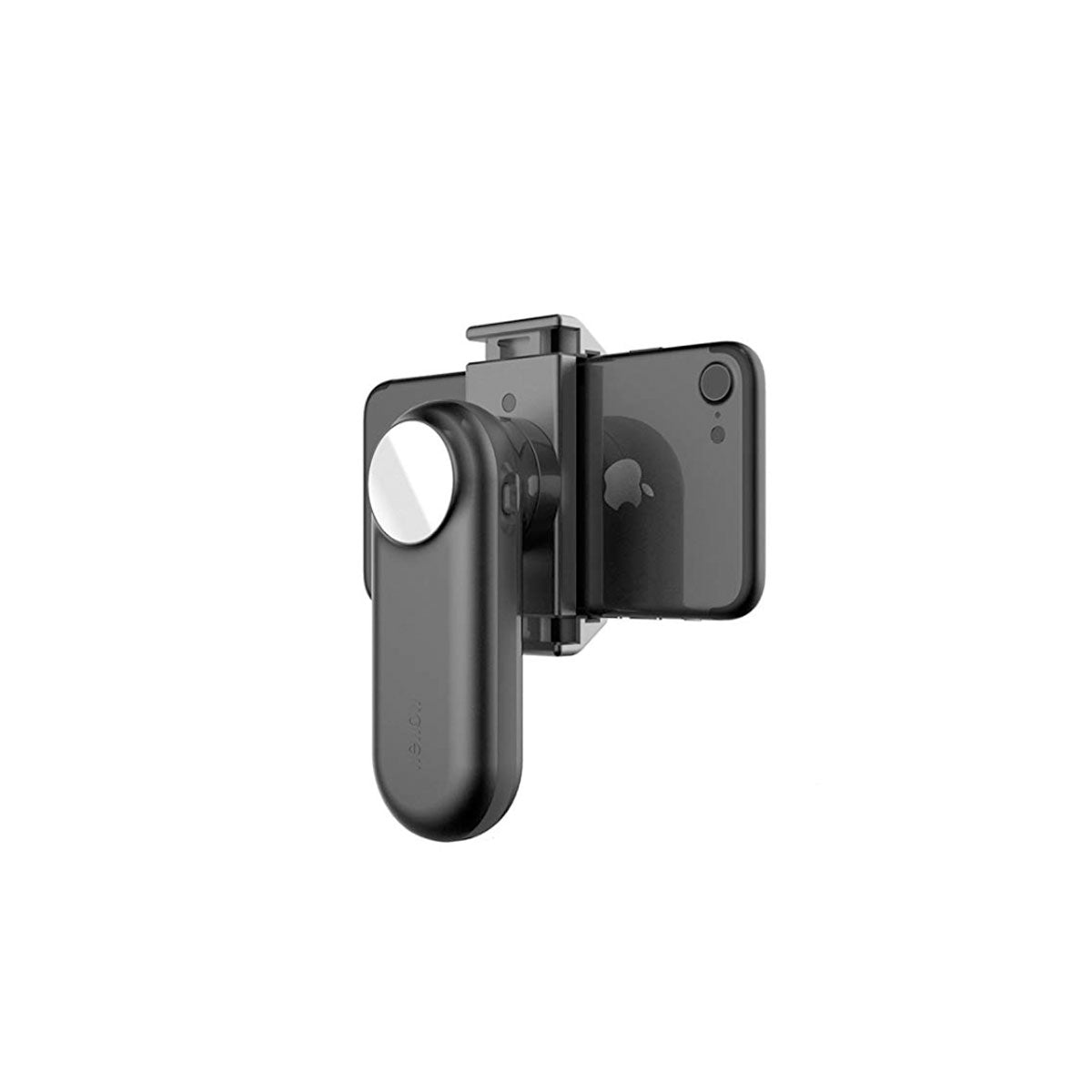 Handheld Compact Gimbal Stabilizer with a Face Mirror & Led Light