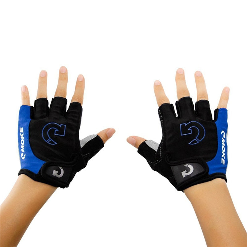 Anti-slip Finger-less Gloves for Motorcycle