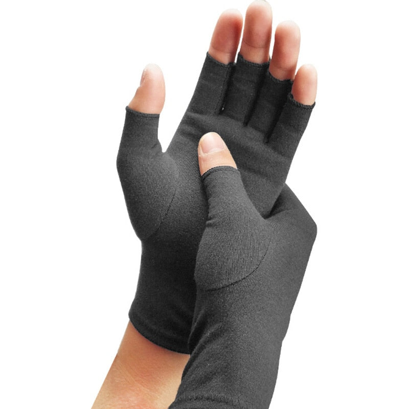 Elastic Anti-Edema Rehabilitation Bike Riding Gloves