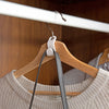 Plastic Space Saving Hangers with Multi-function Coat Hook