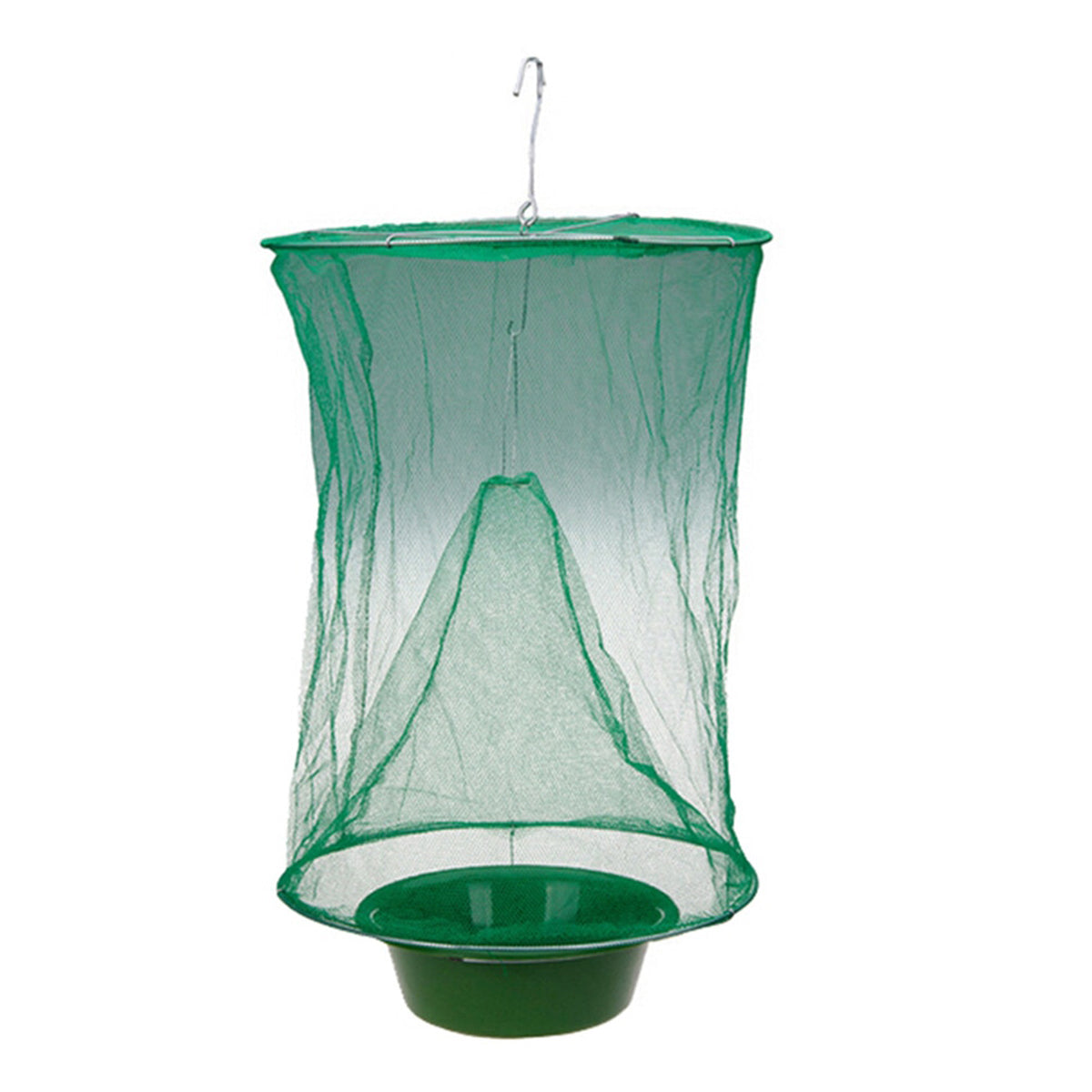 1PCS/lot Reusable Hanging Fly Catcher for Pest Control in Garden