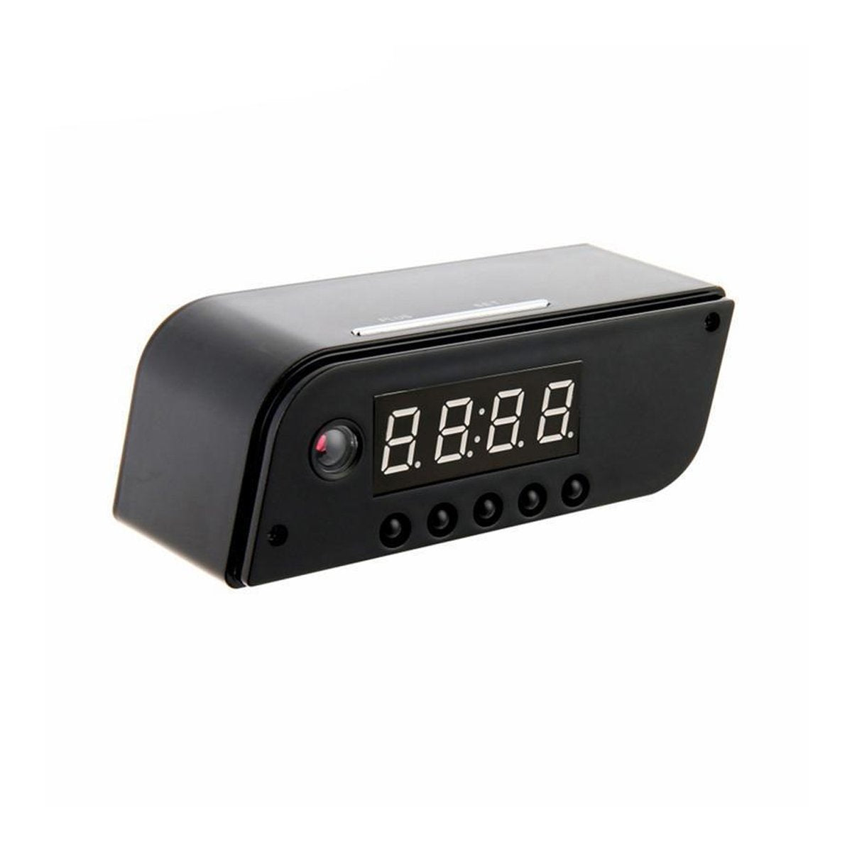 Hidden HD Camera Alarm Clock with Wi-Fi Connectivity & SD Card Slot