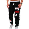 Casual Letter Printed Mens Joggers Sweatpants