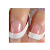 48PCS White French Manicure Strips Nail Decals