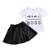 Summer Short Sleeve Baby Girl Clothes
