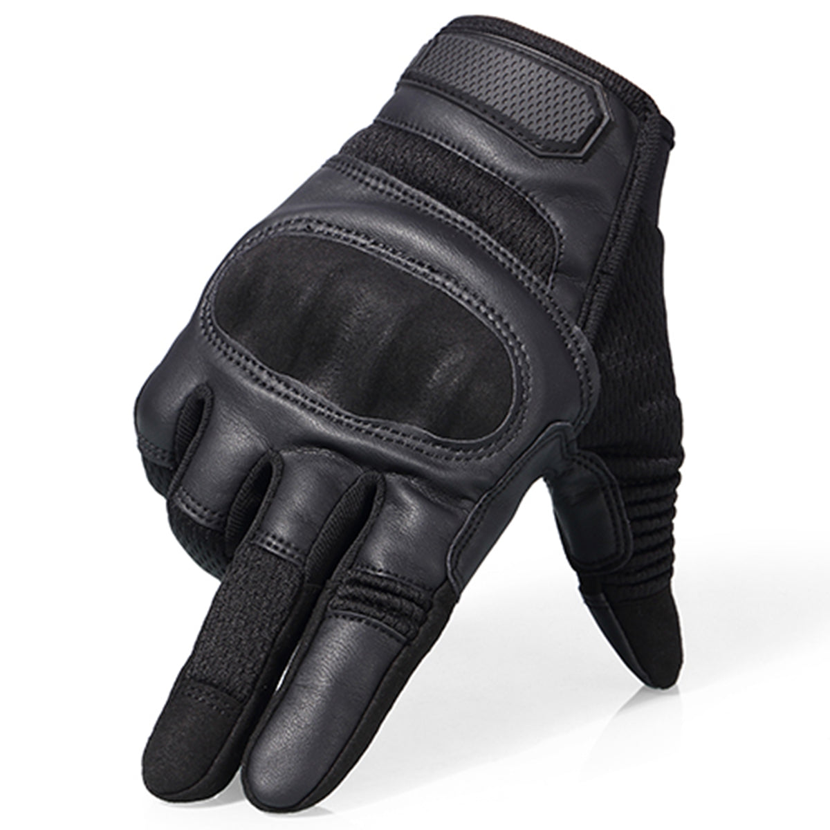 Hard Knuckle Full Finger Motorcycle Gloves