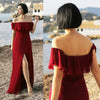 Ever Pretty Sexy One Shoulder Chiffon Bridesmaid Dresses