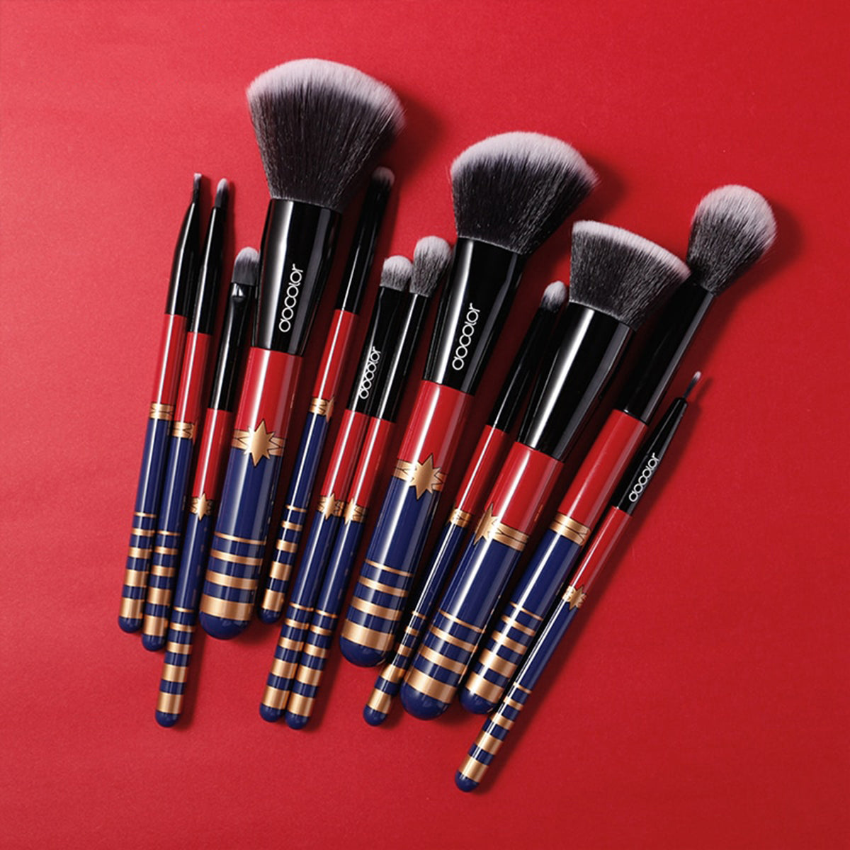 12 Pcs Professional Makeup Brushes Set