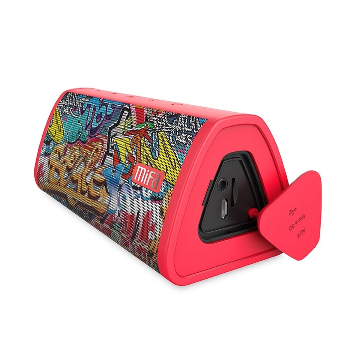 Portable Waterproof Wireless Bluetooth Speaker With 12 Hours of Playtime