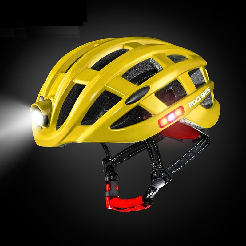 Integrally-Molded Mountain Bike Helmets