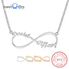 Infinity Personalized  Name Necklaces