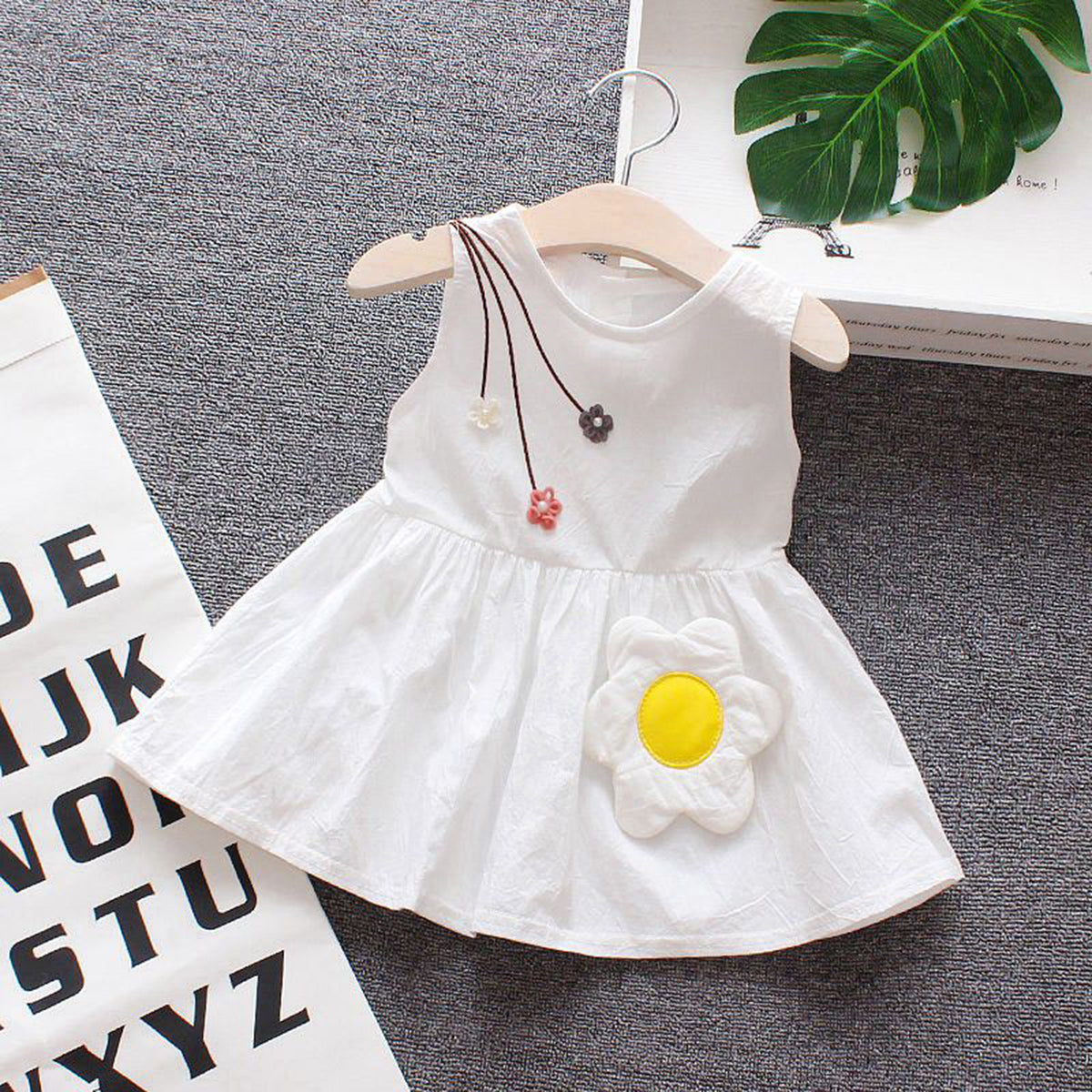 Embroidered Girl Infant Dresses