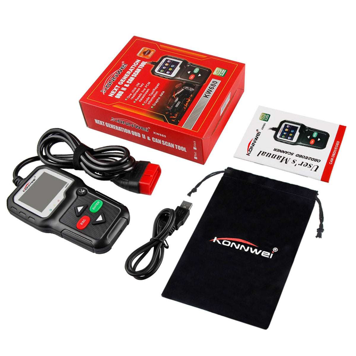 Fully Automated obd2 Car Scanner